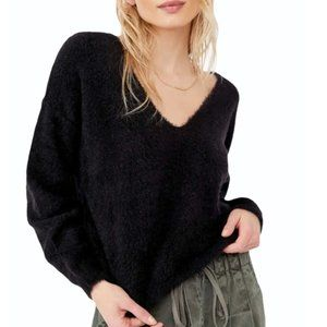 NWT FREE PEOPLE ISING V PULLOVER SWEATER